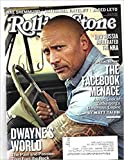 img - for Rolling Stone Magazine (April 19 2018 - May 3, 2018) Dwayne Johnson Cover book / textbook / text book
