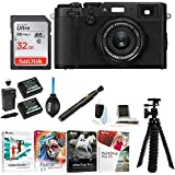 Fujifilm X100F Digital Camera with 32gb Gadget Bag (Black)
