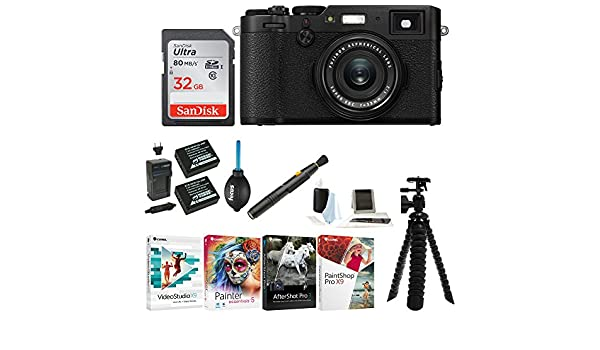 Amazon com : Fujifilm X100F Digital Camera with 32GB