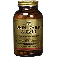 Solgar - Complément alimentaire - Peau, Ongles et Cheveux - 120 comprimés