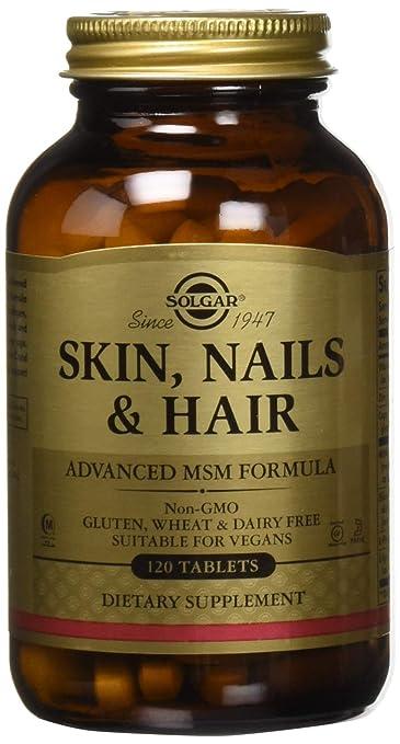 solgar skin nails & hair