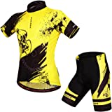 BIYLACLESEN Bicycle Jersey Shirt Short Sleeve Comfortable Suit Riding Clothing Set