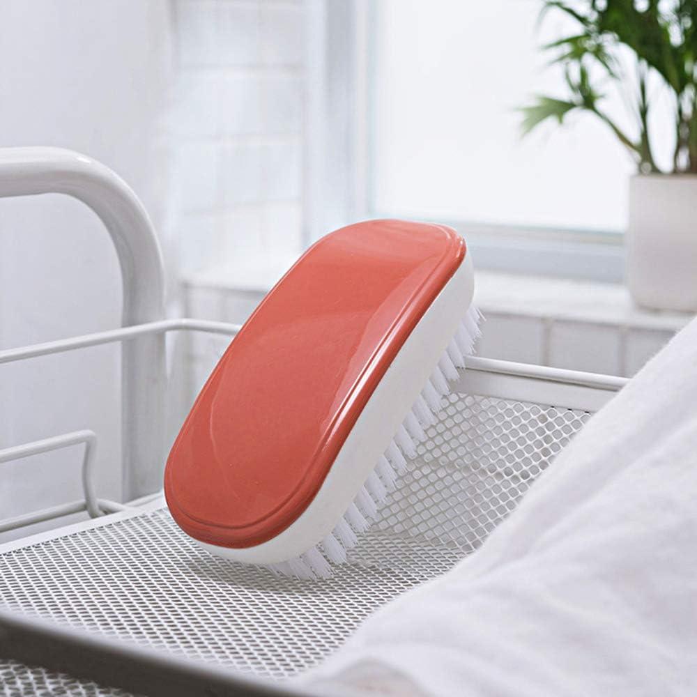 Outil de brosse de nettoyage /à main color/é 3 pi/èces pour v/êtements baignoire de salle de bain Brosse /à linge tapis jaune, rouge, bleu /évier de cuisine XGzhsa Brosse /à linge douce chaussures