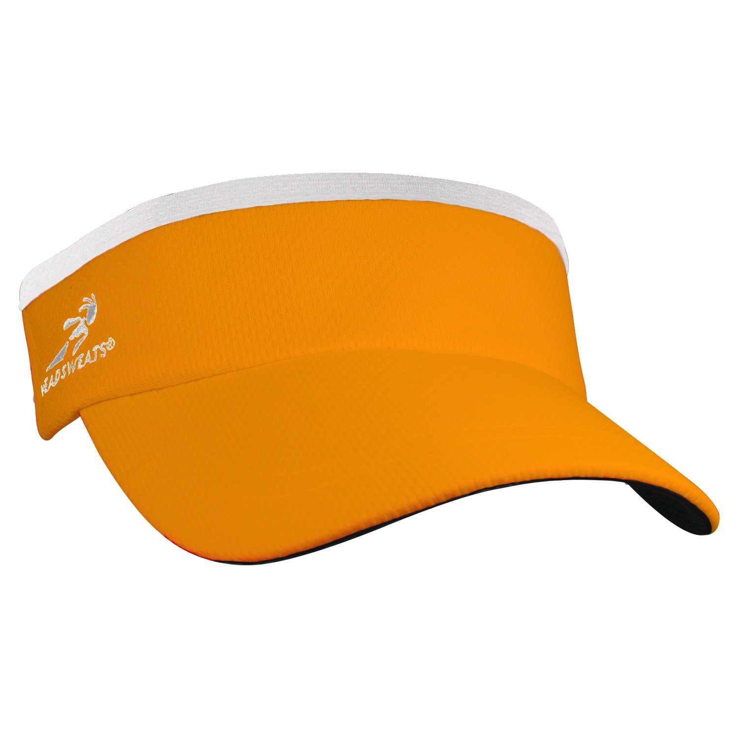 Headsweats Supervisor Sun/Race/Running/Outdoor Sports Visor, Orange, One Size by Headsweats