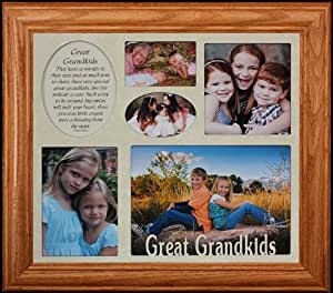 Amazon Com Great Grandkids Multi Opening Collage Frame