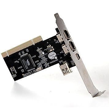 4 puertos Firewire IEEE 1394 4/6 pin tarjeta PCI adaptador ...