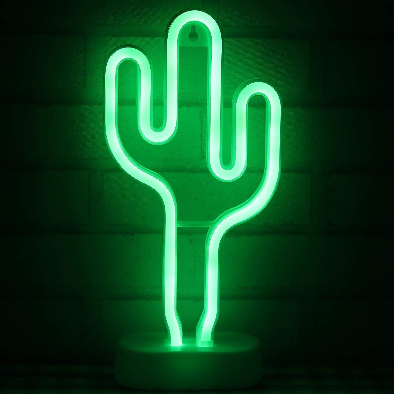 LED-Neonschilder mit Sockel Tisch Neonlicht-Dekoration f/ür Weihnachten Geburtstag Party Neon-LED-Lichter Schlafzimmer Bohaluo Nachtlicht batteriebetrieben oder USB-betrieben Wohnzimmer