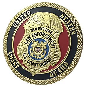 United States Coast Guard Police / Law Enforcement G-P Challenge Coin 1106#
