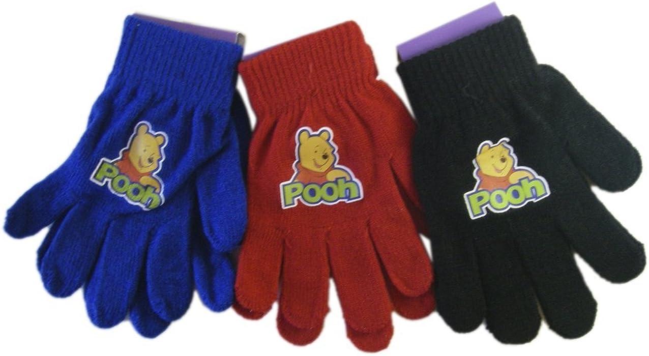 bf7811bff0f7 Disney Winnie the Pooh Blue Magic Stretch Winnie the Pooh Gloves - Winnie  the Pooh Mittens (Blue Pair Only)