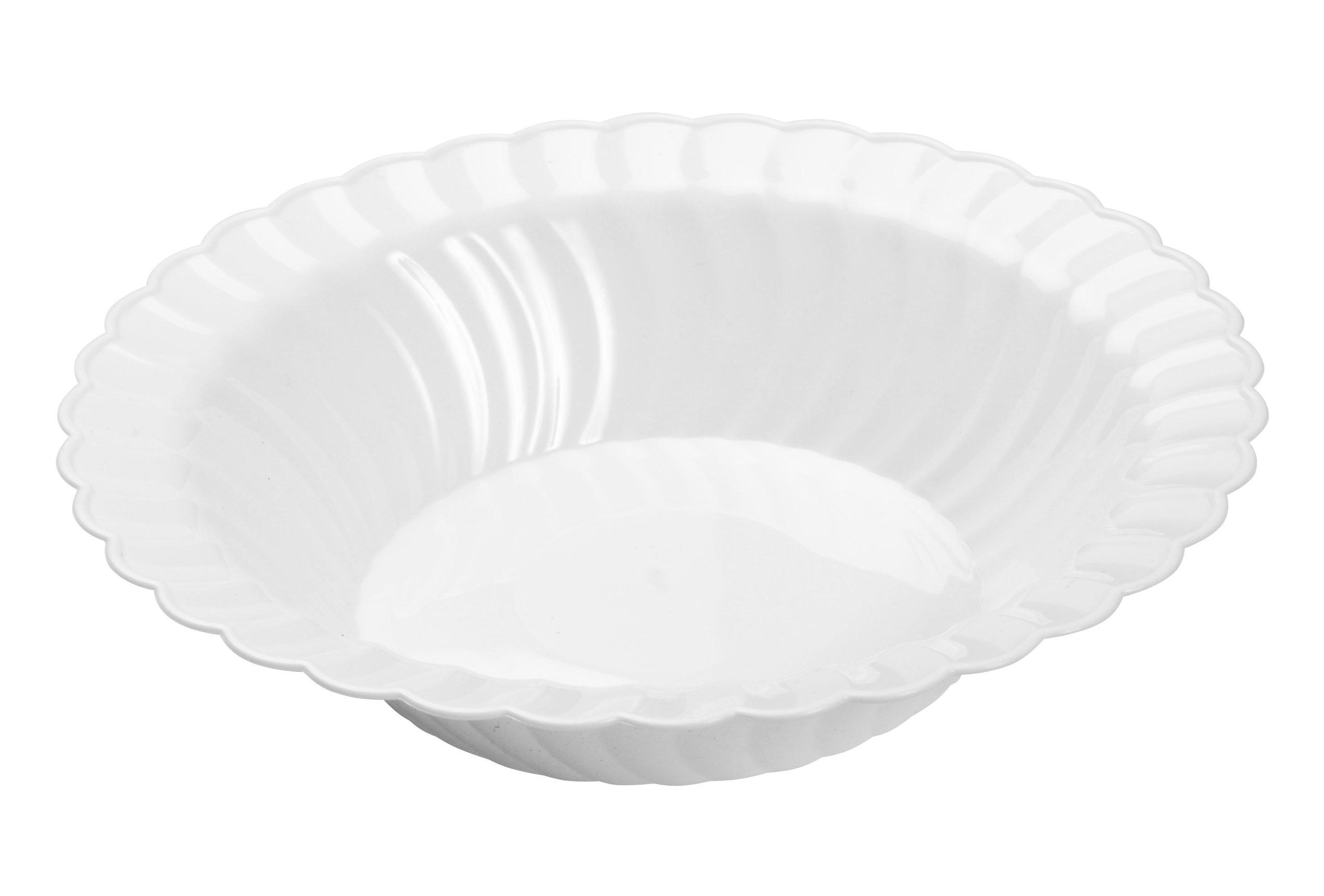 Fineline 12 oz Flairware Bowl (Case of 180) (18 x 10), White