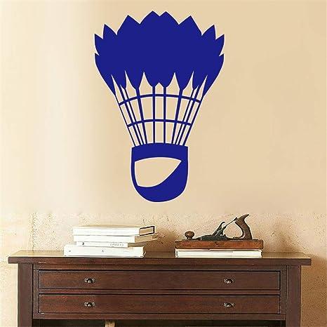 Classic Badminton Sports Art etiqueta de la pared para la ...