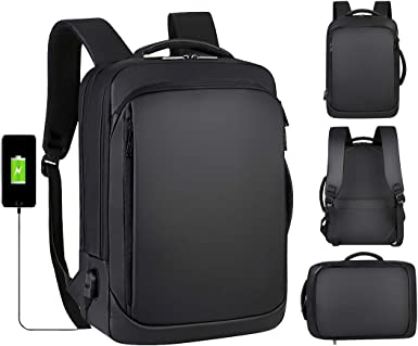 Casual Hiking Travel Daypack Black Computer Backpacks Travel for Women Men