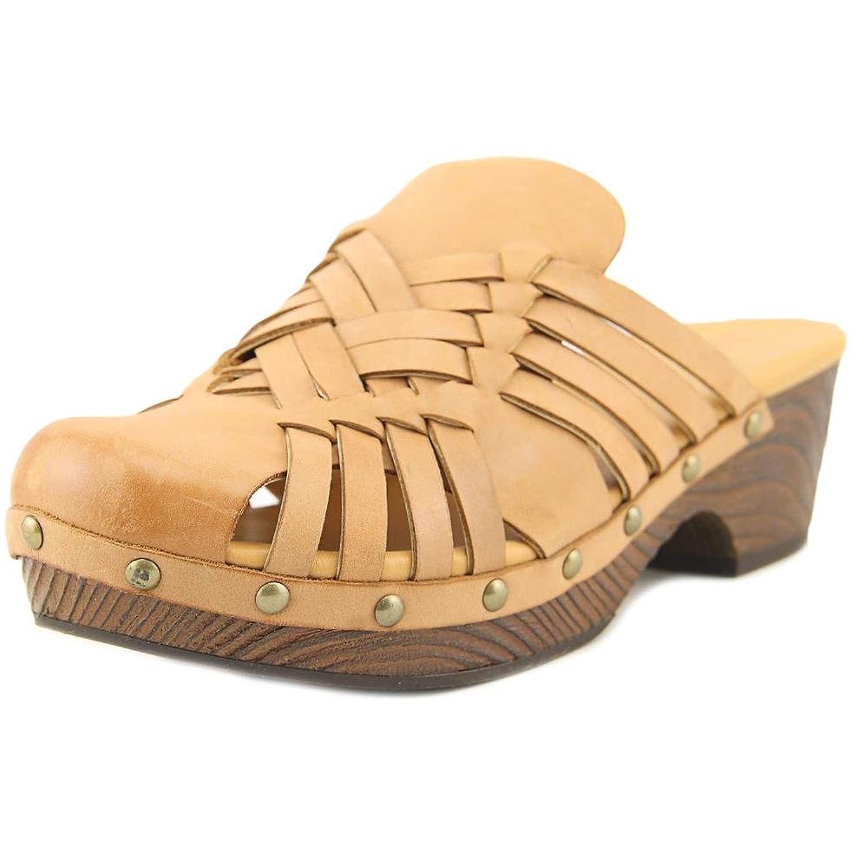 1eceb8985b986 KORKS Women s Asa Woven Mule Platform Clog Leather  9Napu1709570 ...