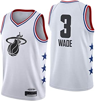 Formesy Camiseta de Baloncesto para Hombres - NBA Miami Heat #3 ...