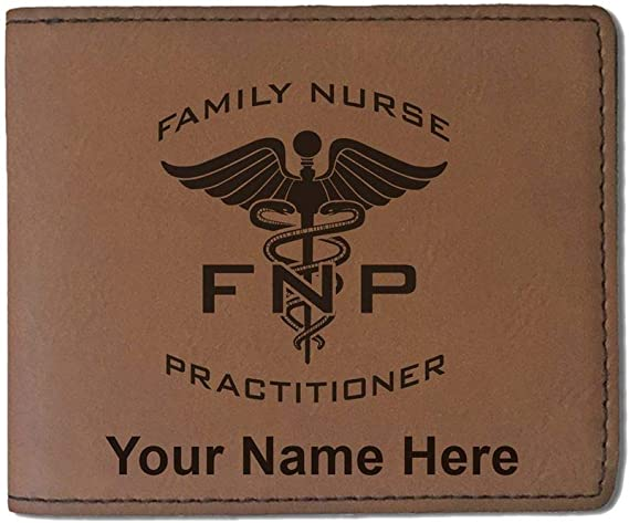 Personalized Engraving Included NP Nurse Practitioner Money Clip Wallet