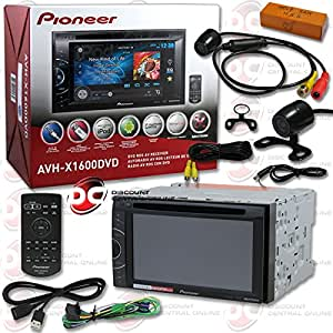 2014 pioneer double din 6 1 touchscreen am fm dvd mp3 wma cd player usb aux in. Black Bedroom Furniture Sets. Home Design Ideas