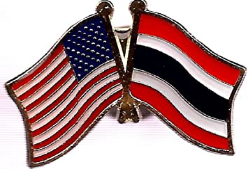Wholesale Pack of 6 USA American Australia Friendship Flag Hat Cap lapel Pin