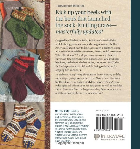Folk Socks The History Techniques Of Handknitted Footwear