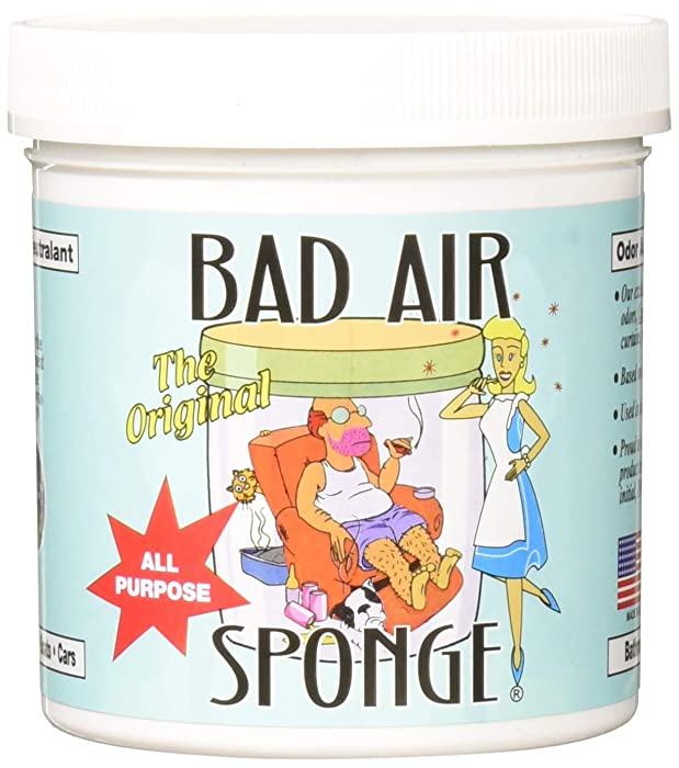 Bad Air Sponge Odor Neutralant 14 Ounce, 4 Pack