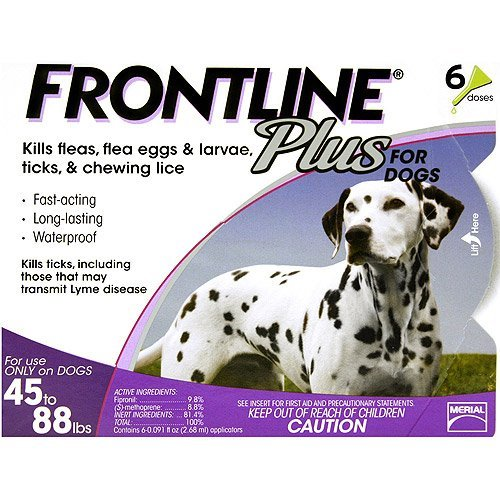 Frontline 6 Month Plus Purple for Dogs 4588 lbs by Frontline