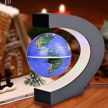 TAOtTAO LED Light LED Light C Forma Magnetic Globe LED Luz Globe Nadando Home dekoration1 X