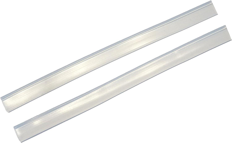 Sleec - Labios de repuesto de silicona para limpiacristales Revo (25 cm), transparente: Amazon.es: Hogar