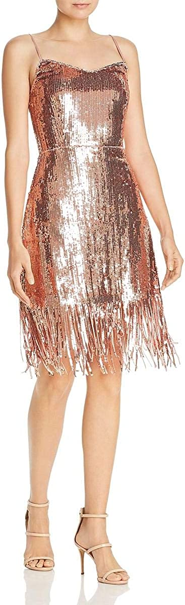 Laundry by Shelli Segal Women's Metallic Cocktail Dress