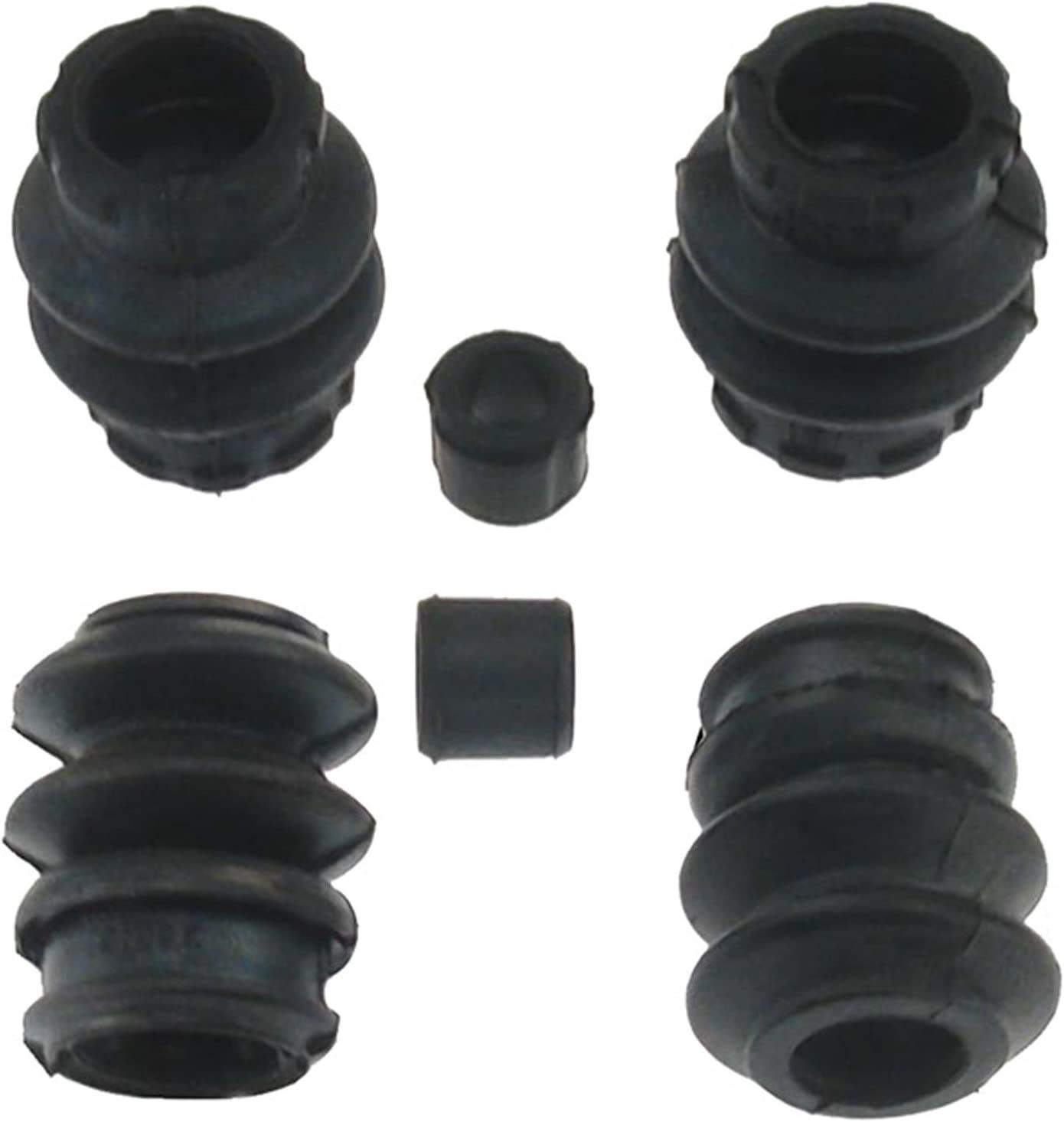 ACDelco 18K1935 Professional Front Disc Brake Caliper Rubber Bushing Kit with Seals and Bushings