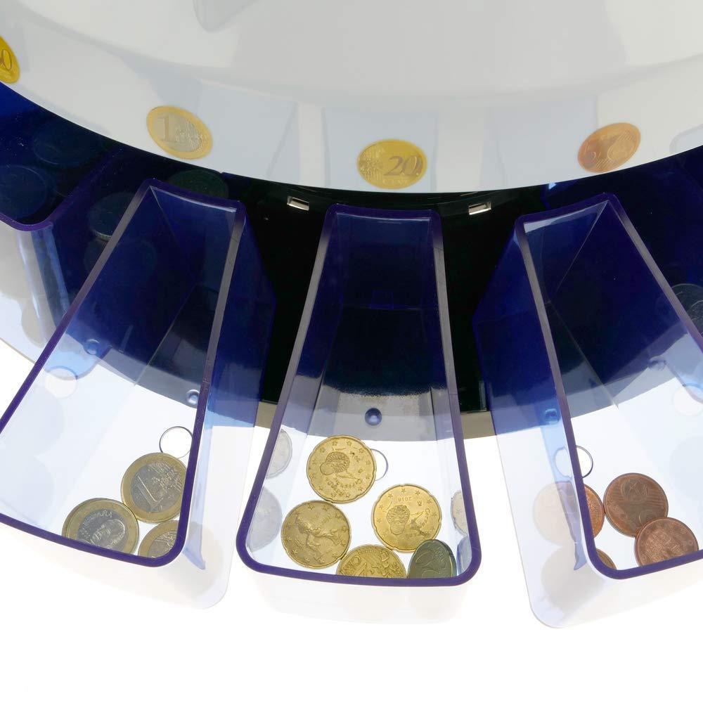 Cablematic DB360 Máquina de clasificación y contador de monedas: Amazon.es: Electrónica