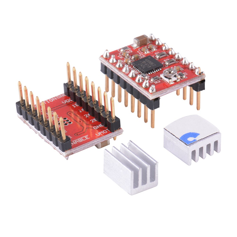 Amazon.com: XCSOURCE 3D Printer Kit with CNC Shield V3.0 + UNO R3 Board + 4pcs A4988 Stepper Motor Driver with Heatsink for Arduino TE623: Home & Kitchen