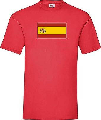 Shirtinstyle Uni Camiseta España Spain Camiseta de País con el ...