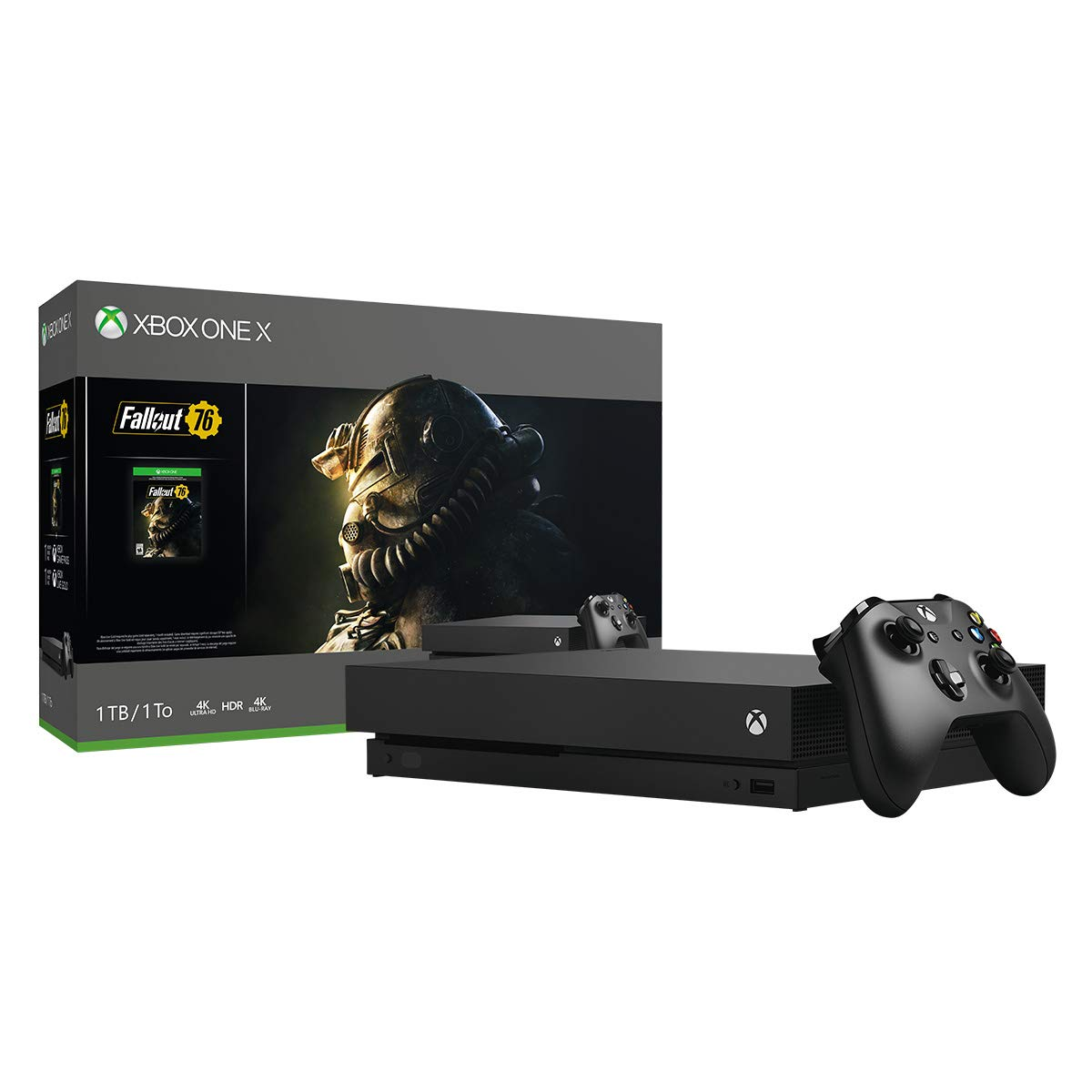 Xbox One X 1TB Console - Fallout 76 Bundle (Discontinued) by Microsoft (Image #2)