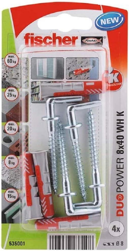 Fischer 535001 Blister Duopower 8 x 40 WH K NV