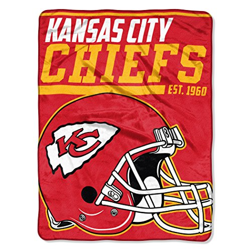 NFL Kansas City Chiefs 40 Yard Dash Micro Raschel Throw, 46