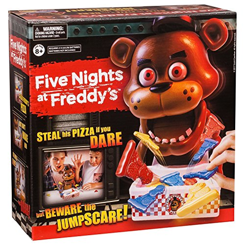 Five Nights at Freddy's Game ''Steal His Pizza If You Dare'' Board Game By Moose Toys Dimension 8.1 x 4.8 x 4.9 inches by Five Nights at Freddy's Toys & Games