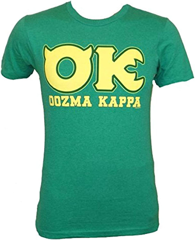 Amazon Com Disney Monsters University Ok Oozma Kappa Member Green T Shirt Clothing