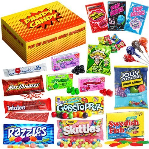 Dandy Candy American Sweets and Candy Gift Hamper