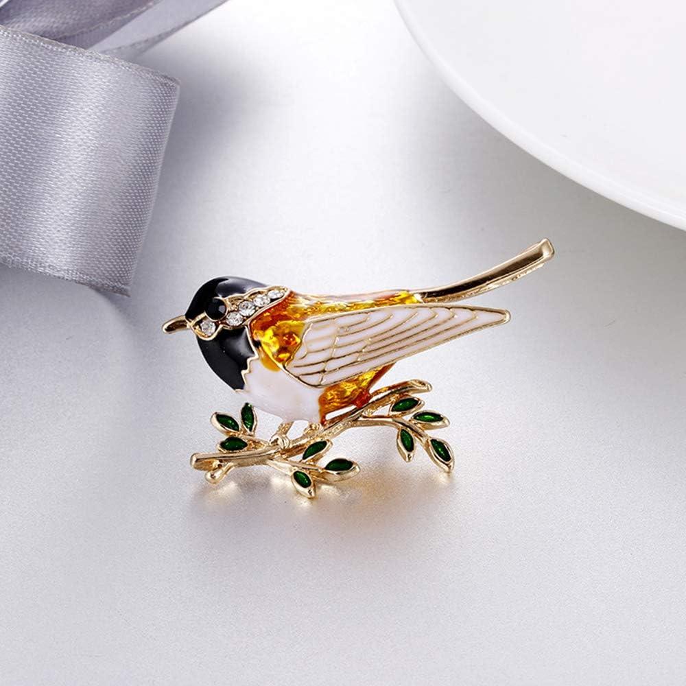 Ogquaton Belle Cristal Hirondelle Animal Broche Oiseau /Épingle Bijoux Femmes Cr/éatif et Utile