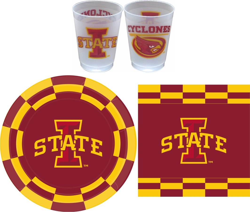 Westrick Iowa State Cyclones Party Pack - 81 Pieces