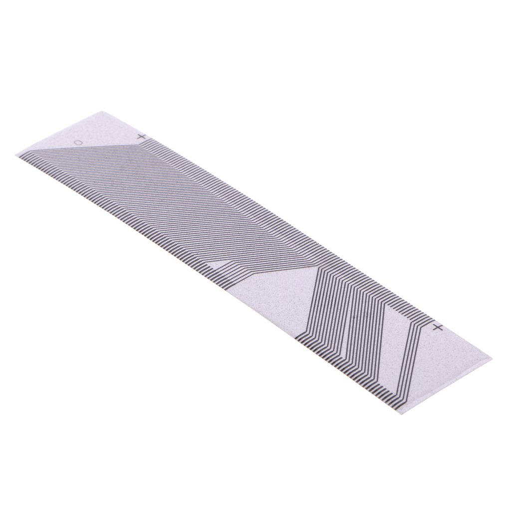 MagiDeal Ribbon Cable for SAAB 9-3 9-5 SID-2 Instrument Cluster LCD Pixel Repair Carbon Material