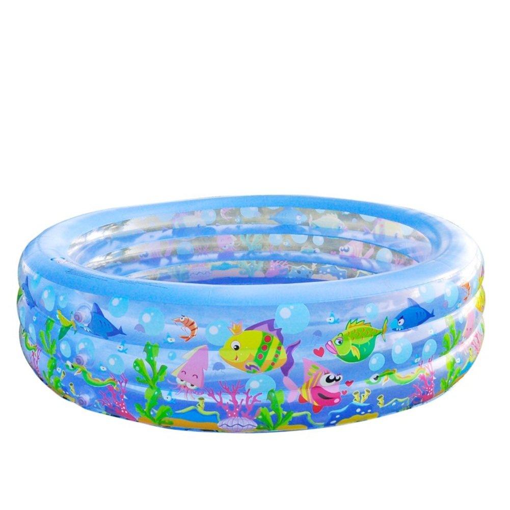 Familie aufblasbare Runde Pool für Erwachsene/Schwimmbad/Kinder verdicken mehr kreisförmigen Schwimmbad-B