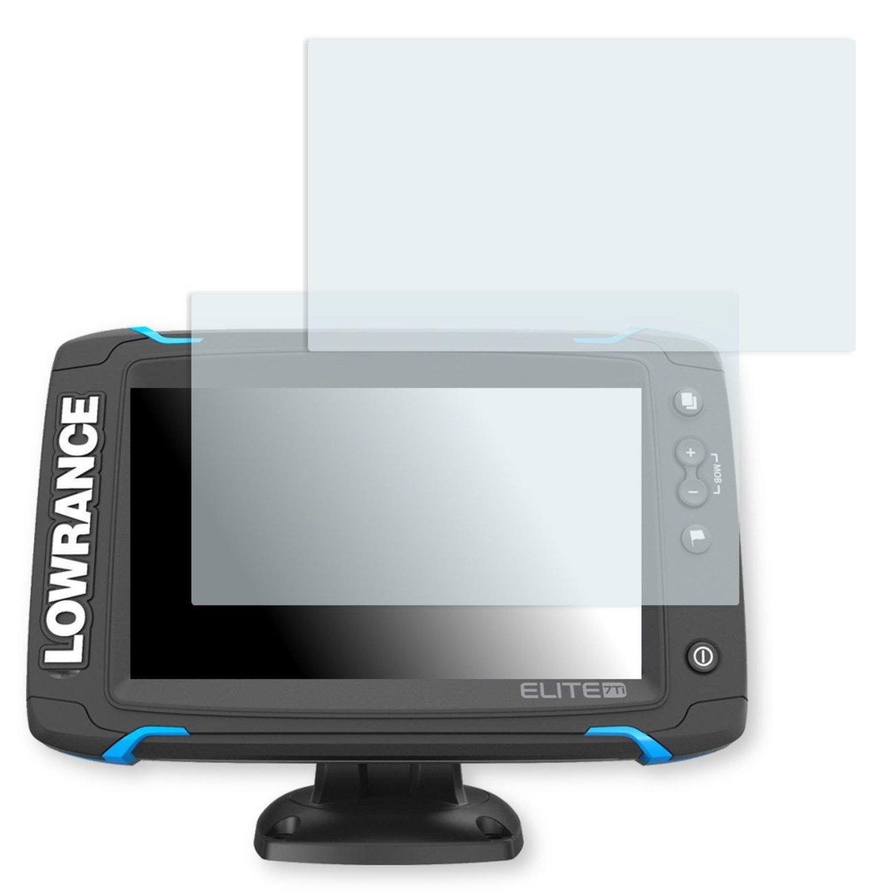 GOLEBO 2X Anti-Glare Screen Protector for Lowrance Elite-7 (Anti-Reflex, Air Pocket Free Application, Easy to Remove)