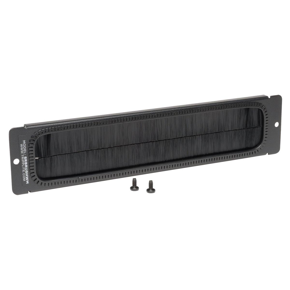 TRIPP LITE Brush Strip Plate for Wallmount Rack Enclosure Server Cabinet (SRBRUSHWM)