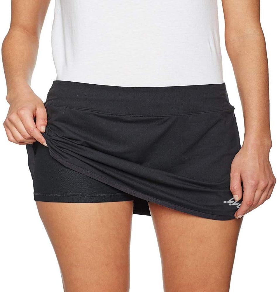 Etophigh Jupes Sportives pour Femmes Jupe de Sport Active avec Short int/érieur avec Poches pour la Course /à Pied Tennis entra/înement Sportif
