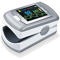 Beurer PO 80 pulsoximeter, grijs-wit