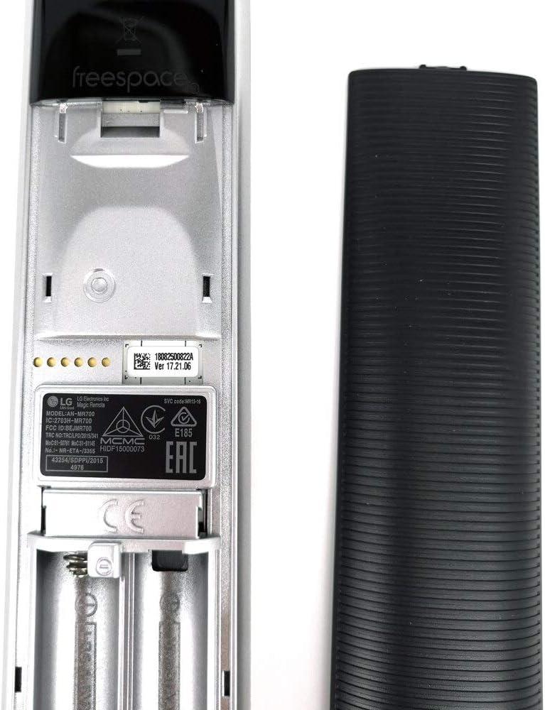 Calvas New Genuine Original For LG SMART TV AN-MR700 AKB75455601 Magic Remote Control With Voice Mate 3D Remoto controller logo