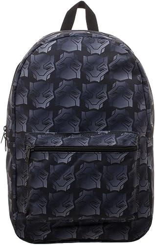 Black Panther Movie Logo Sublimated Backpack Standard