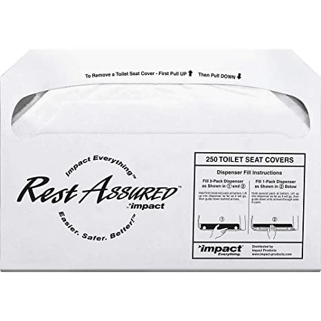 Awe Inspiring Rochester Midland Half Fold Toilet Seat Covers 250 Sheets Per Pack Carton Of 20 Packs Onthecornerstone Fun Painted Chair Ideas Images Onthecornerstoneorg