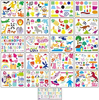 1 Set Painting Drawing Wooden Stencil Template Drawing Tools for Children