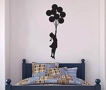 Banksy Wall Decal   Hanging Balloon Girl Wall Decal, Banksy Decal   Banksy  Vinyl Wall